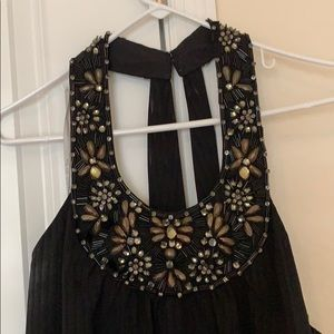 Mikael Aghal Long black gown